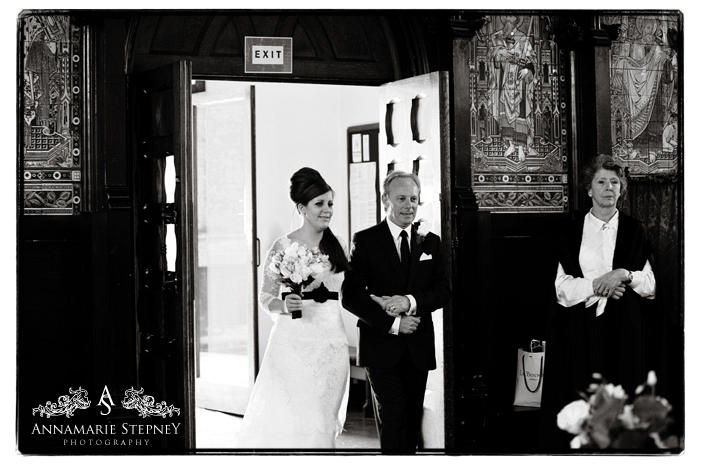 St Paul's Church, Knightsbridge, London Wedding Photography ~ Annamarie Stepney