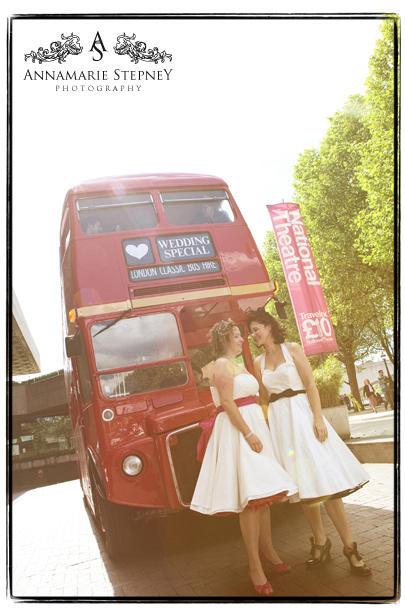 Civil Partnership, National Theatre Wedding Photography ~ Annamarie Stepney