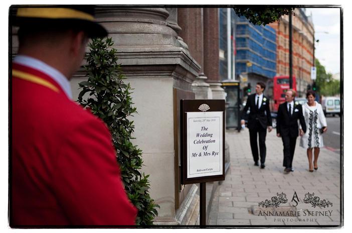 The Mandarin Oriental, London Wedding Photography ~ Annamarie Stepney