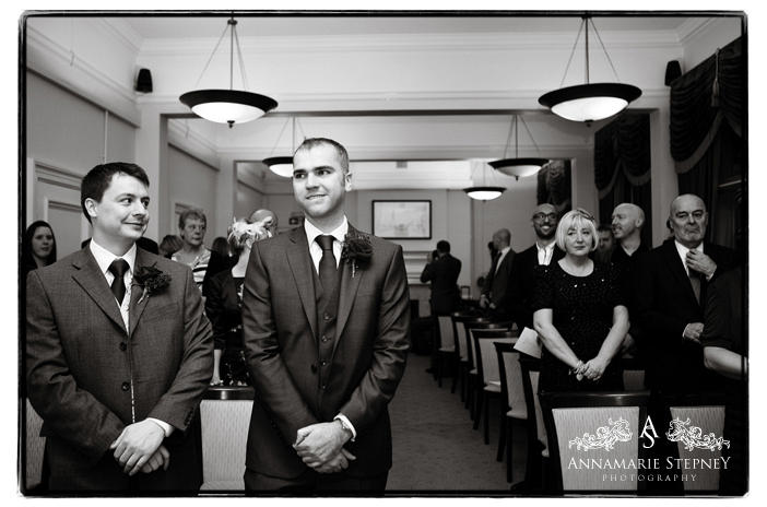 Old Marylebone Town Hall, London Wedding Photography ~ Annamarie Stepney