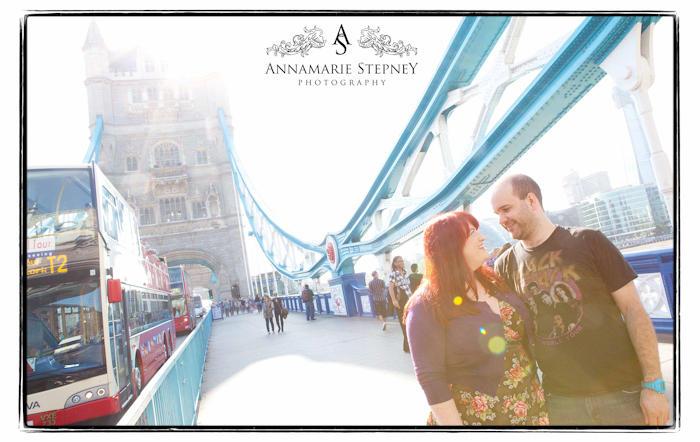 London Bridge Engagement Photographer ~ Annamarie Stepney