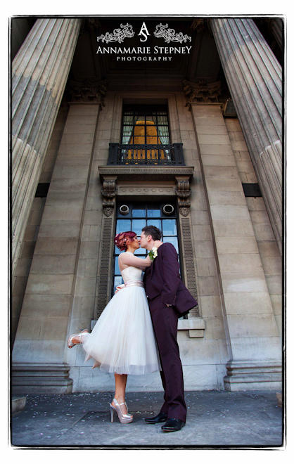 Old Marylebone Town Hall & Union Club, Soho, London Wedding Photographer Annamarie Stepney