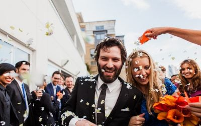 The Design Museum & 6 St Chads, London Wedding ~ Anna & Jamie: i do