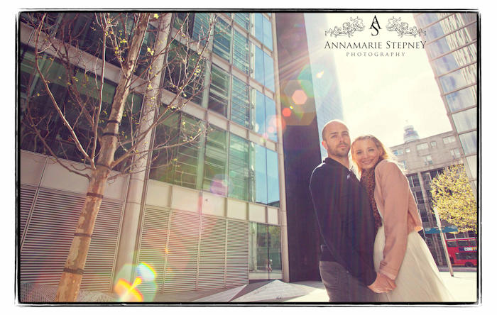 London Engagement Shoot ~ Annamarie Stepney ~ Sophie & Jack