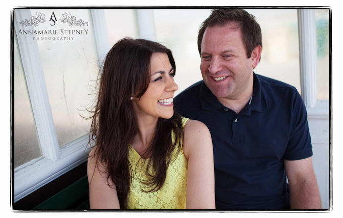 Brighton Beach Engagement Shoot, Creative Photographer Annamarie Stepney