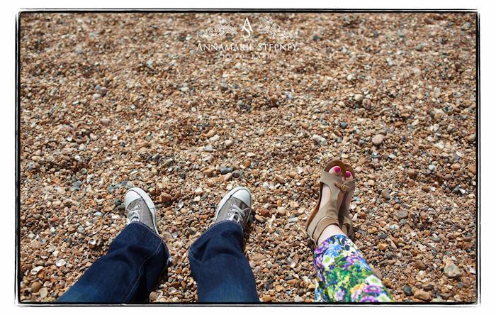 Hove Beach Engagement Shoot, Creative Photographer Annamarie Stepney