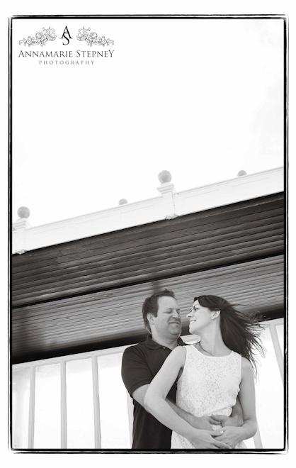 Brighton Beach Engagement Shoot, Creative Photographer Annamarie Stepney