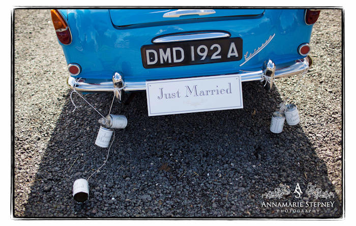 Just Married ~ The House Meadow Kent Wedding ~ Annamarie Stepney Photography