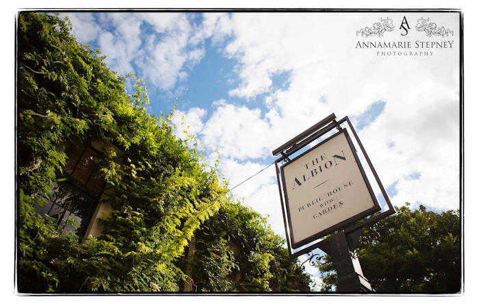 The Albion Sign ~  Annamarie Stepney Photography