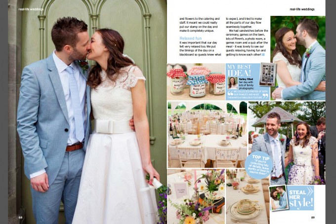 Page 2 Lemore Manor Herefordshire Wedding Feature in Perfect Wedding Magazine ~ Annamarie Stepney Photography