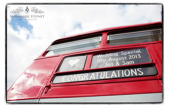 London Bus | Natural Wedding Photography | Annamarie Stepney