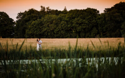 Knepp Castle Estate Wedding Photographer – Jess & Dan's Outdoors Lakeside Wedding