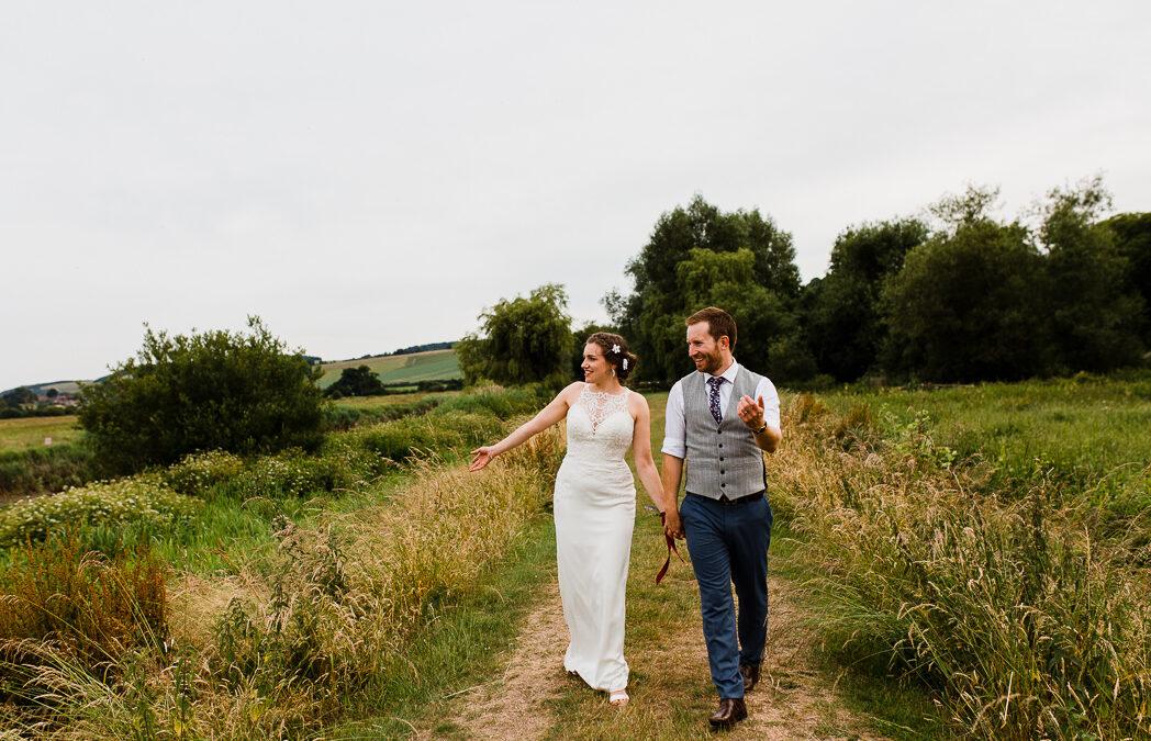 Bury Manor Barn Wedding Photographer – Jem & Pete's Relaxed Barn Wedding